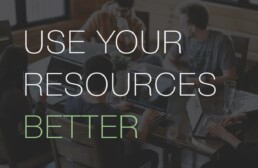 Better use of resources for sales